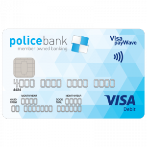Police Bank Visa Debit Card